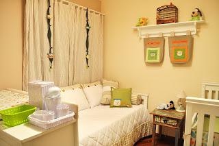 decoracao quarto bebe pequeno