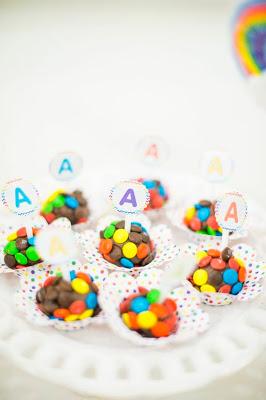 Festa arco-íris (chá de bebê ou aniversário)