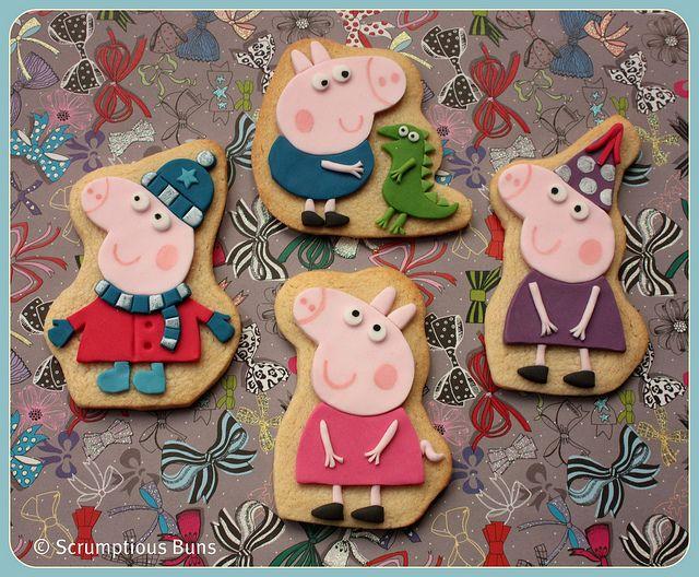 peppa pig biscoitos