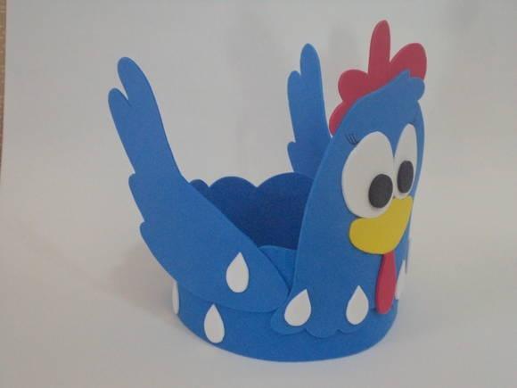 centro de mesa galinha pintadinha