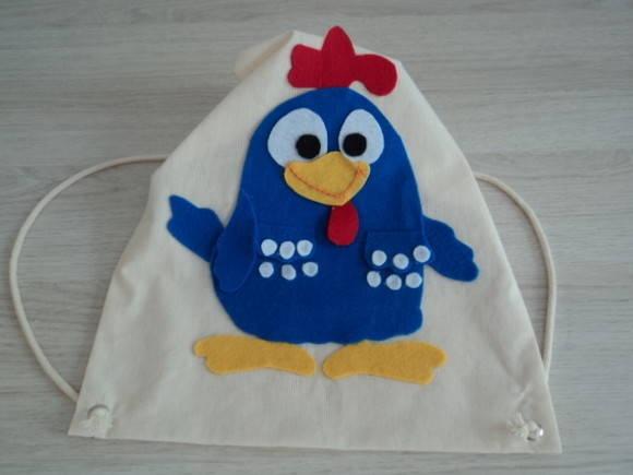 lembrancinha galinha pintadinha