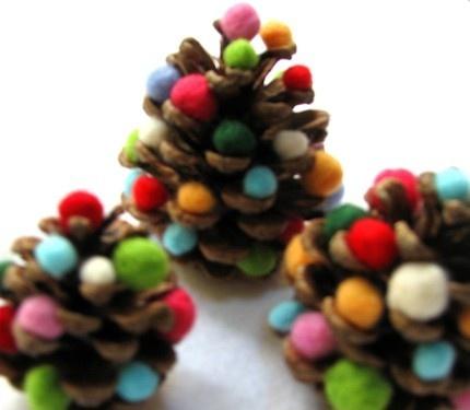 mini árvore natal