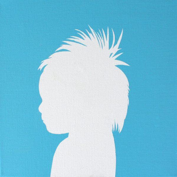 perfil em canvas destaque