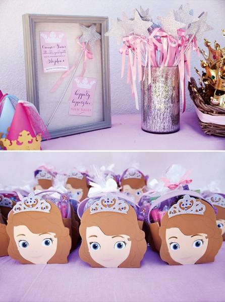 Lembrancinhas festa princesas