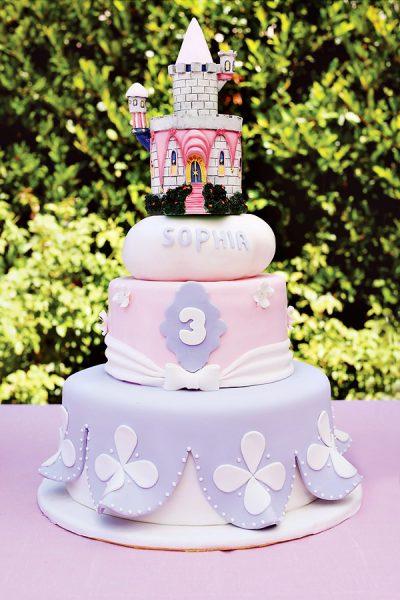 bolo festa princesas
