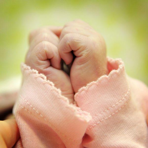 mao de bebe