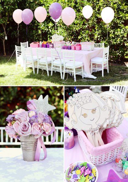 mesa festa princesas