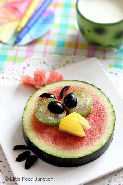 Lanche de melancia