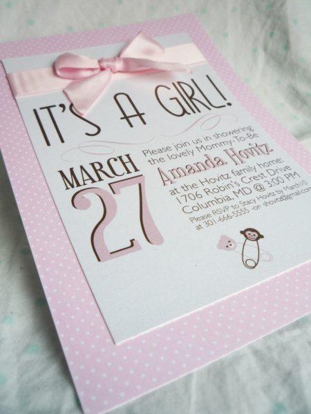 19 convite cha de bebe