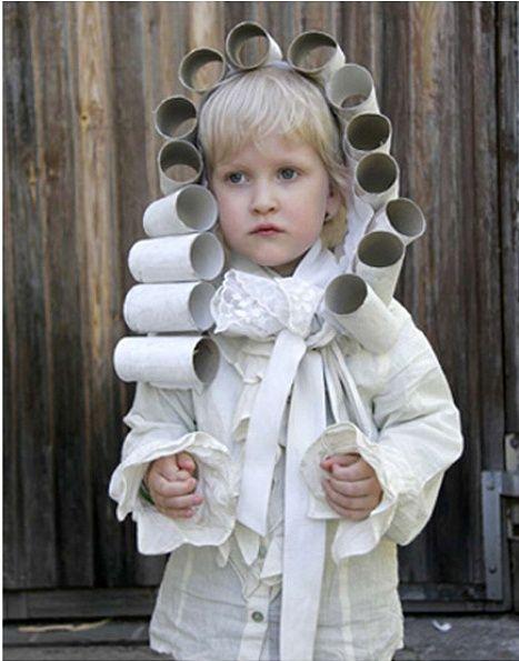 Toilet Paper Roll Halloween Costume