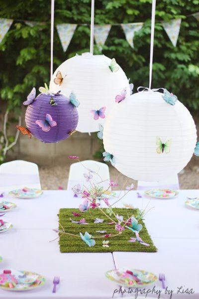 Lanternas japonesas na decoração de festa infantil 616ef150e20