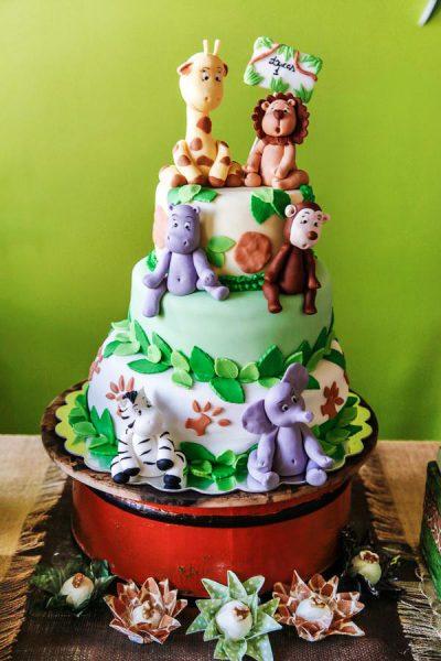 4 bolo festa safari
