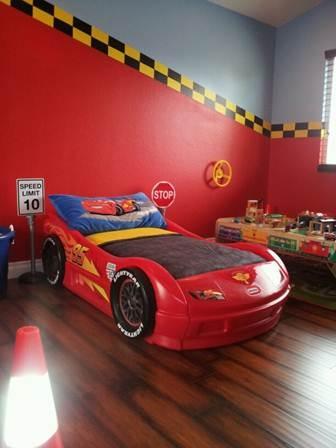 55 decoracao quarto carros