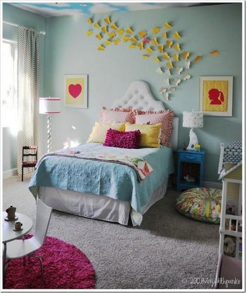 66 decoracao quarto borboletas
