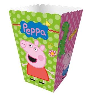 caixinha pipoca peppa pig