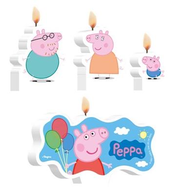 velas bolo aniversario peppa pig