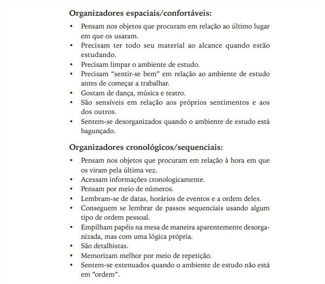 Organizadores espaciais e cronologicos - Livro Meu Filho e uma bagunca