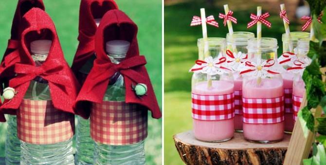 15 ideias para festa tema Chapeuzinho Vermelho b6466e2032d