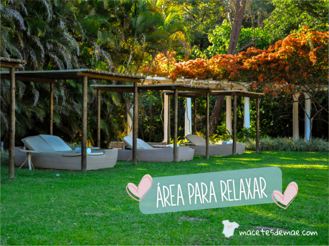 area para relaxar