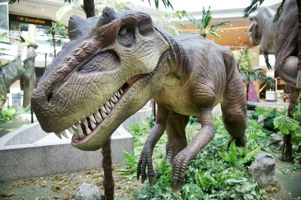 dinossauros exposicao brasilia