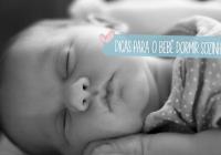 Bebês que só dormem embalados ou mamando – como mudar esses hábitos
