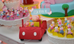 Festa Peppa Pig – alegre e colorida