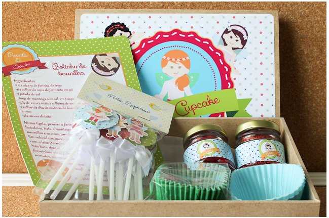 kit cupcake tuty arte mimos