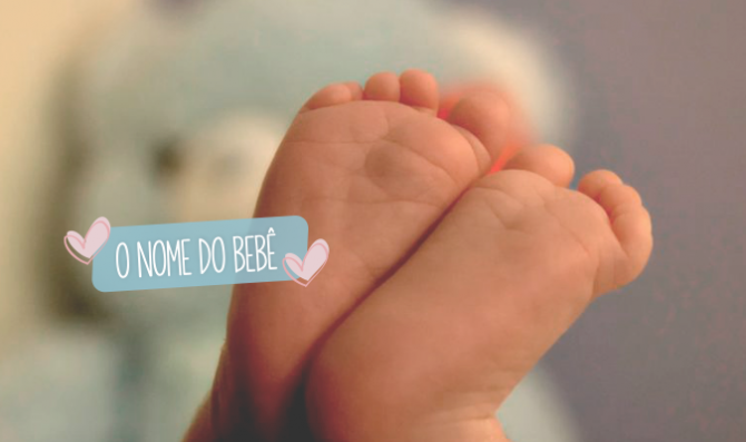 o nome do bebe