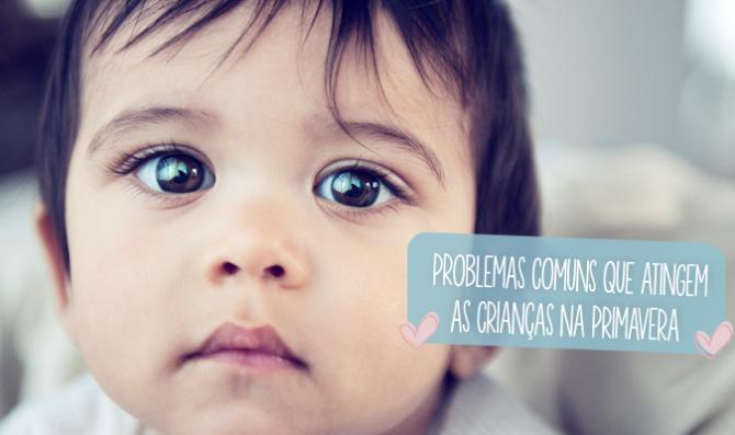 problemas comuns que atingem as criancas na primavera 2