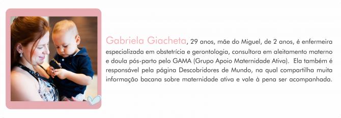 Colunistas MdM - enfermeira Gabriela
