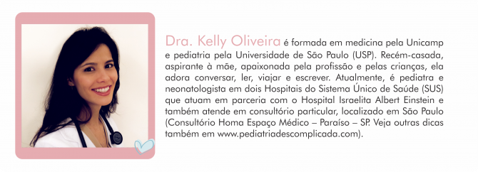 Colunistas MdM - pediatra kelly