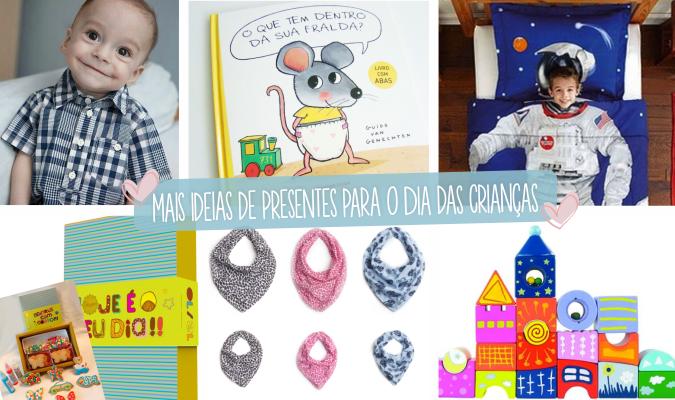 Mais ideias de presentes para o Dia das Criancas