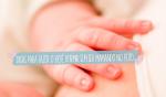 Como adormecer um bebê sem ser mamando no peito