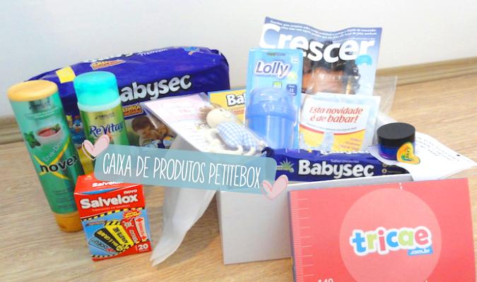 Caixa de produtos PetiteBox