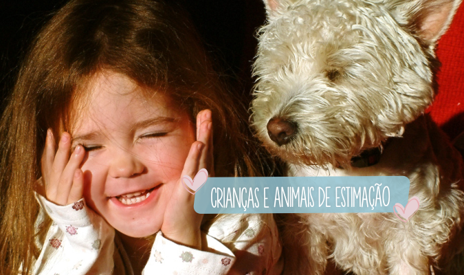 Criancas e animais de estimacao