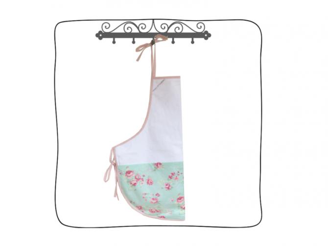 Avental de banho - Com toalha super felpuda na parte da frente e material impermeável no verso, o contato com o bebê é super delicado e ao mesmo tempo a mamãe não se molha.