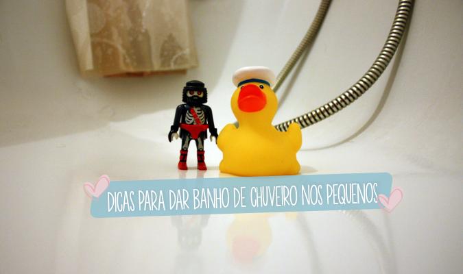 dicas para banho de chuveiro