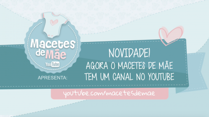 macetes de mae no youtube