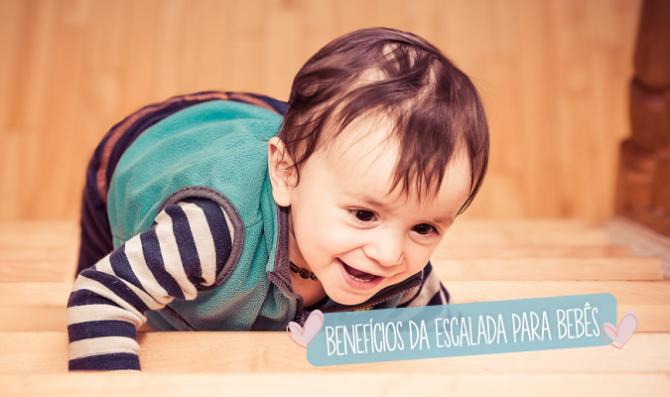 beneficios da escalada para bebes