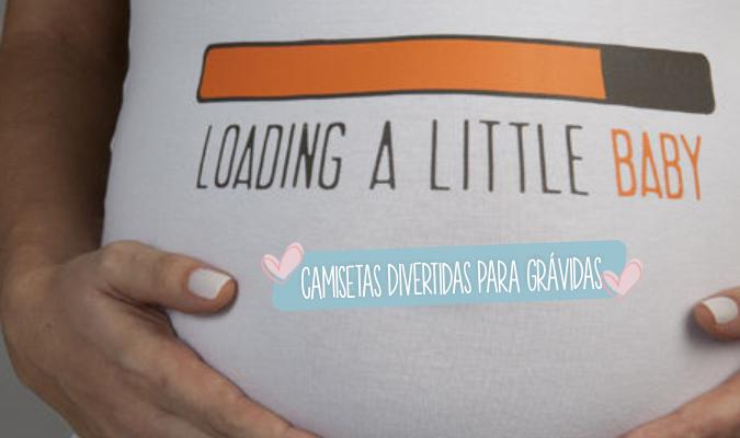 camisetas divertidas gravidas