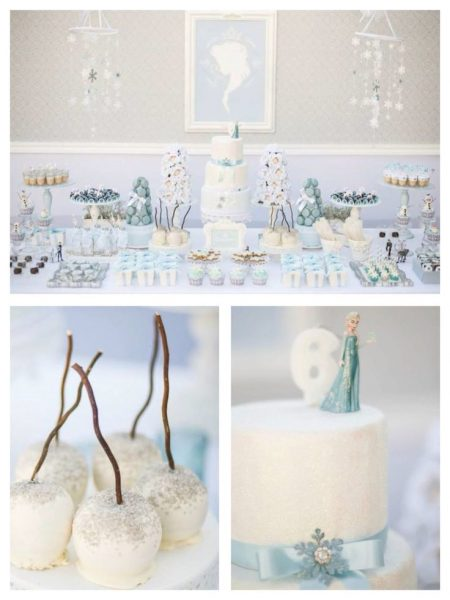 Fonte: http://www.karaspartyideas.com/2014/11/frozen-winter-wonderland-birthday-party.html