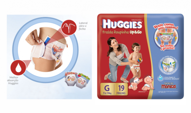 huggies fralda up and go