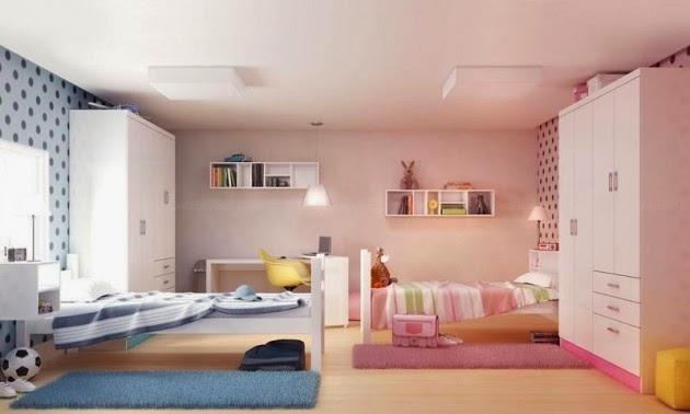 Quarto Montessoriano Compartilhado ~   de menino e menina ? dicas para decora??o de quarto compartilhado