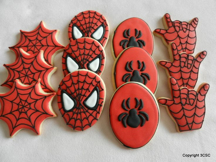 Galletas Decoradas Spiderman