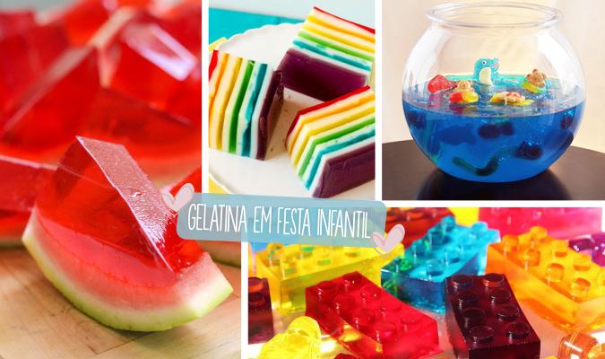 gelatina em festa infantil principal