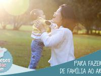 DICAS PARA FAZER FOTOS DE FAMILIA AO AR LIVRE