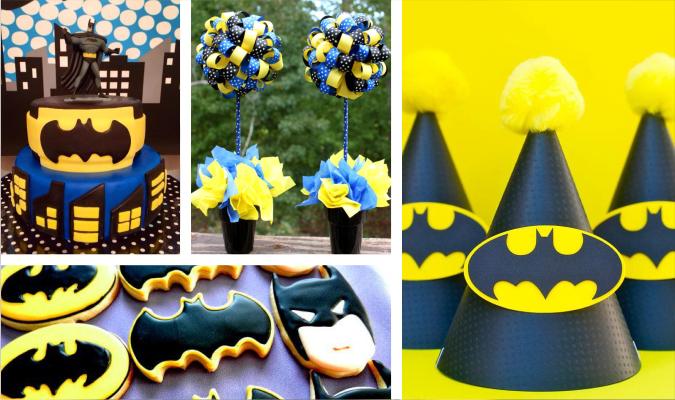 Festa Tema Batman Macetes De M 227 E