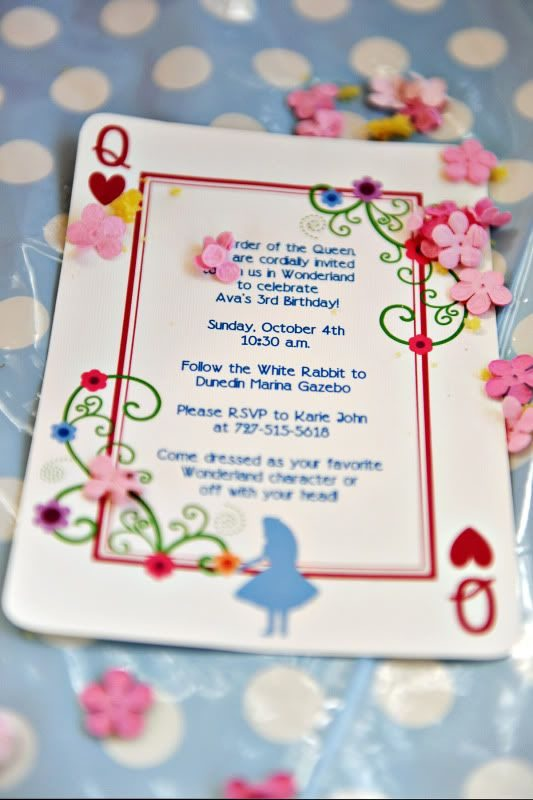 Mad Hatters Tea Party Invitation as luxury invitations layout