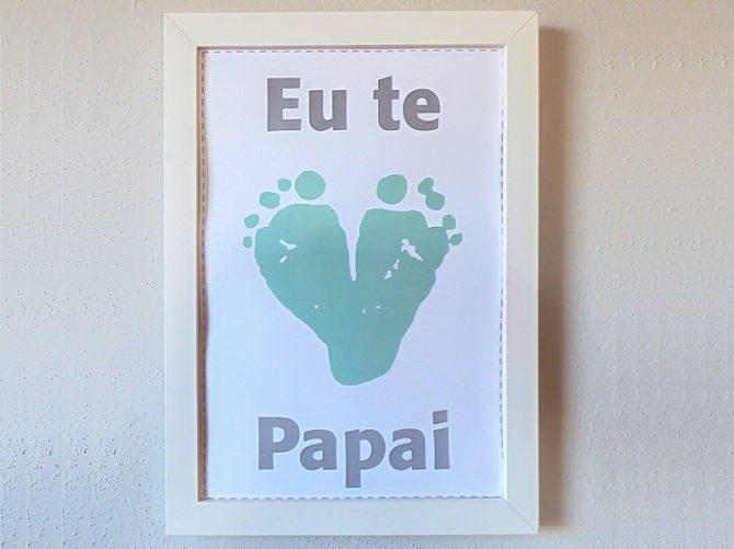 eu te amo papai