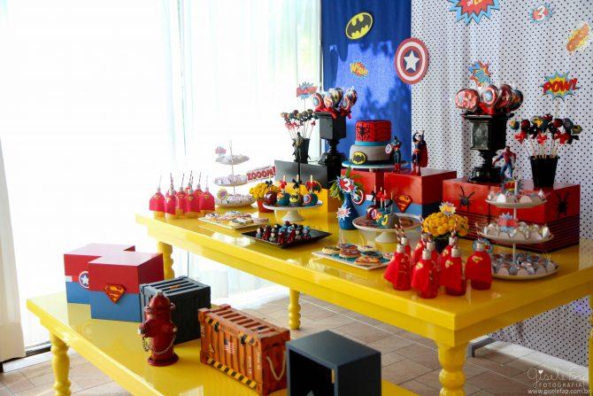 mesas e objetos